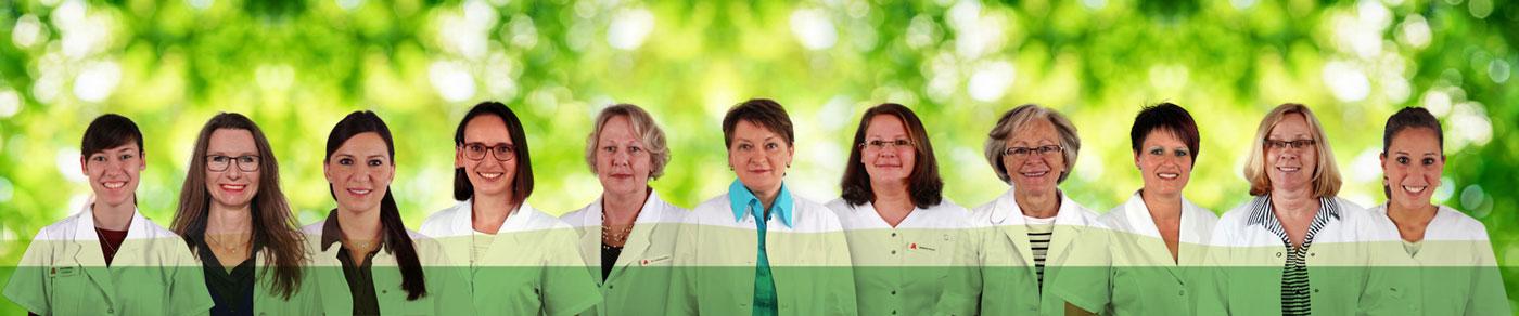 Mitarbeiterinnen der Apotheke Neckarburg
